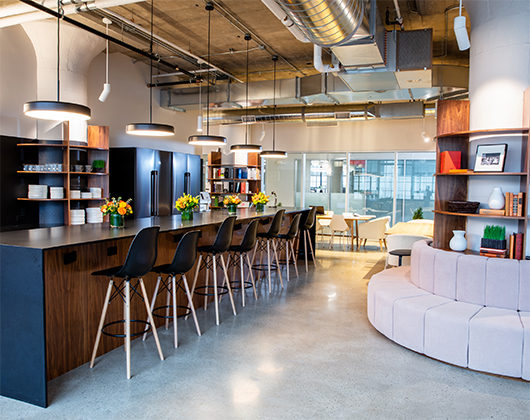 The Flexible Design of Post COVID-19 Workplaces